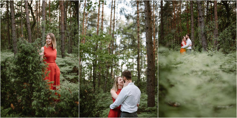 fotograf sochaczew sesja w lesie