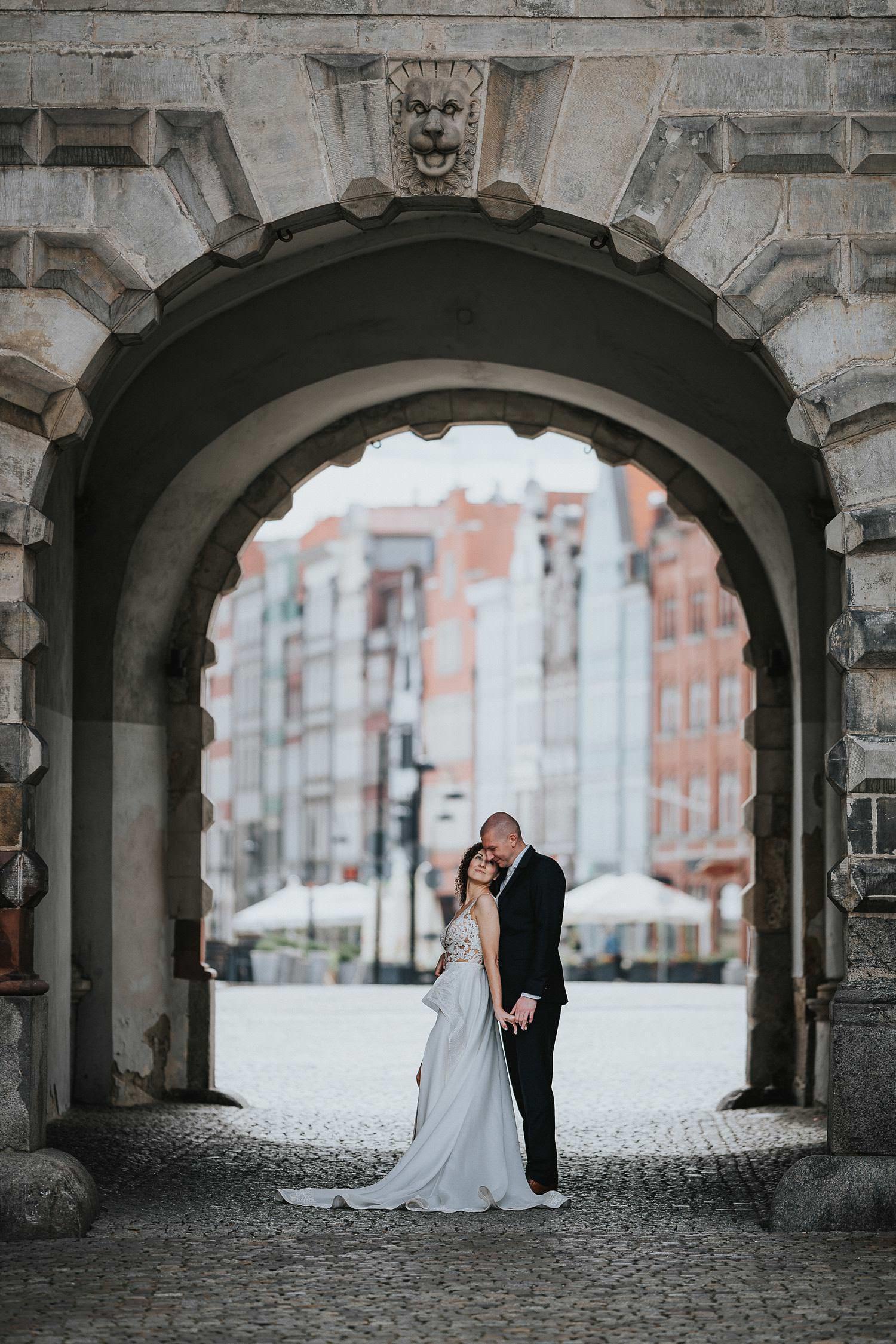 sesja ślubna gdańsk starówka