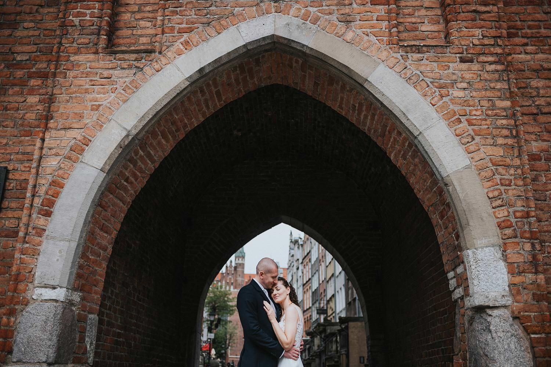 sesja ślubna gdańsk stare miasto