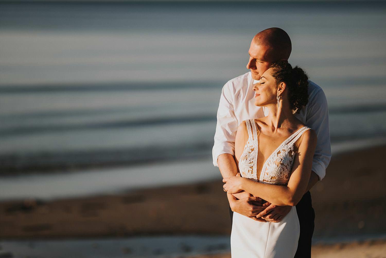 fotograf ślubny so lovely sesja na plaży