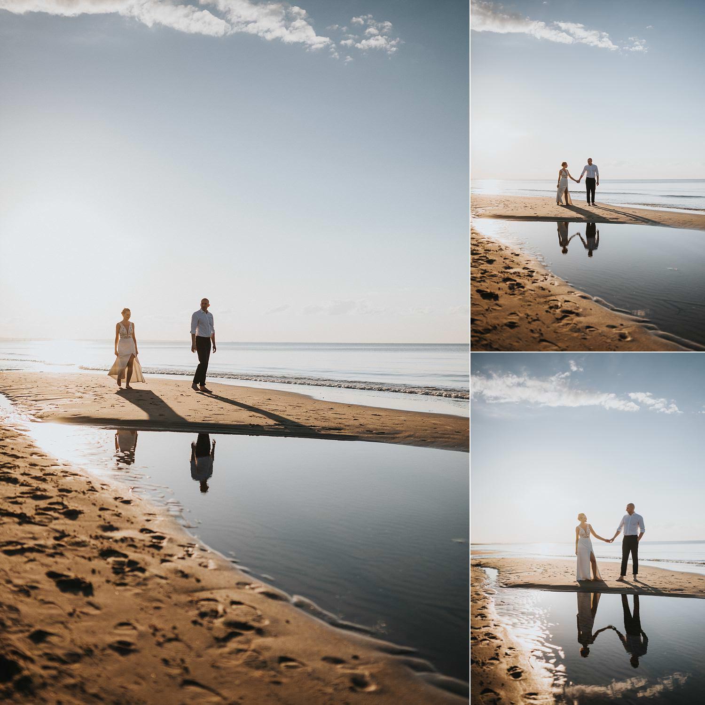 fotograf ślubny sesja sobieszewo
