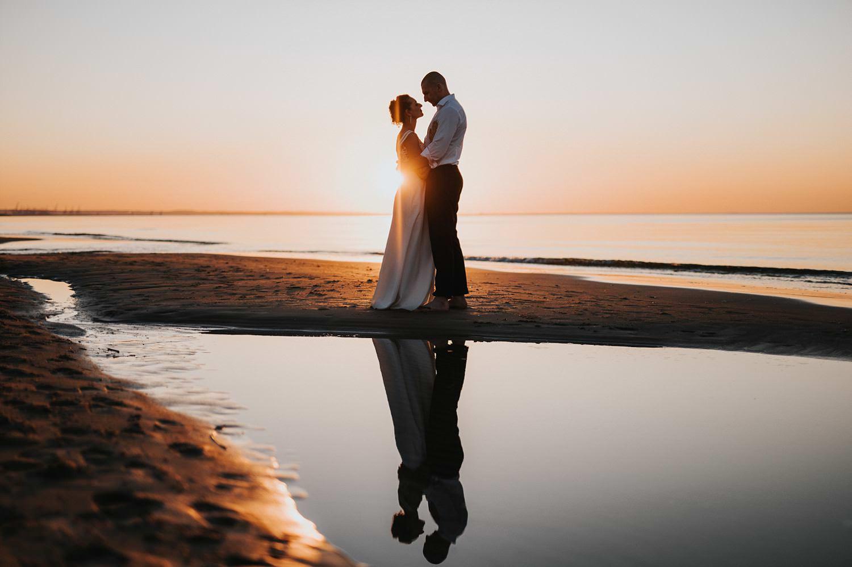 fotograf ślubny sesja na plaży