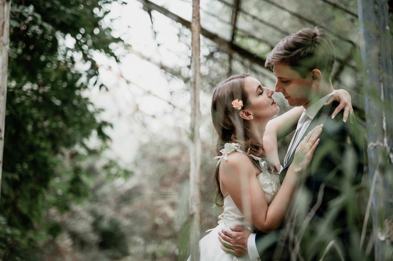 sesja ślubna w szklarni fotograf warszawa